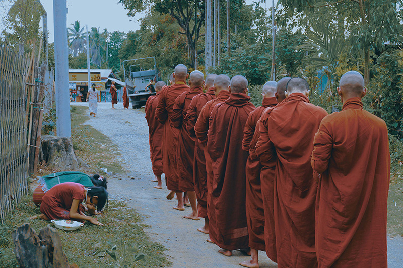 孤獨園 Burma Monk Life