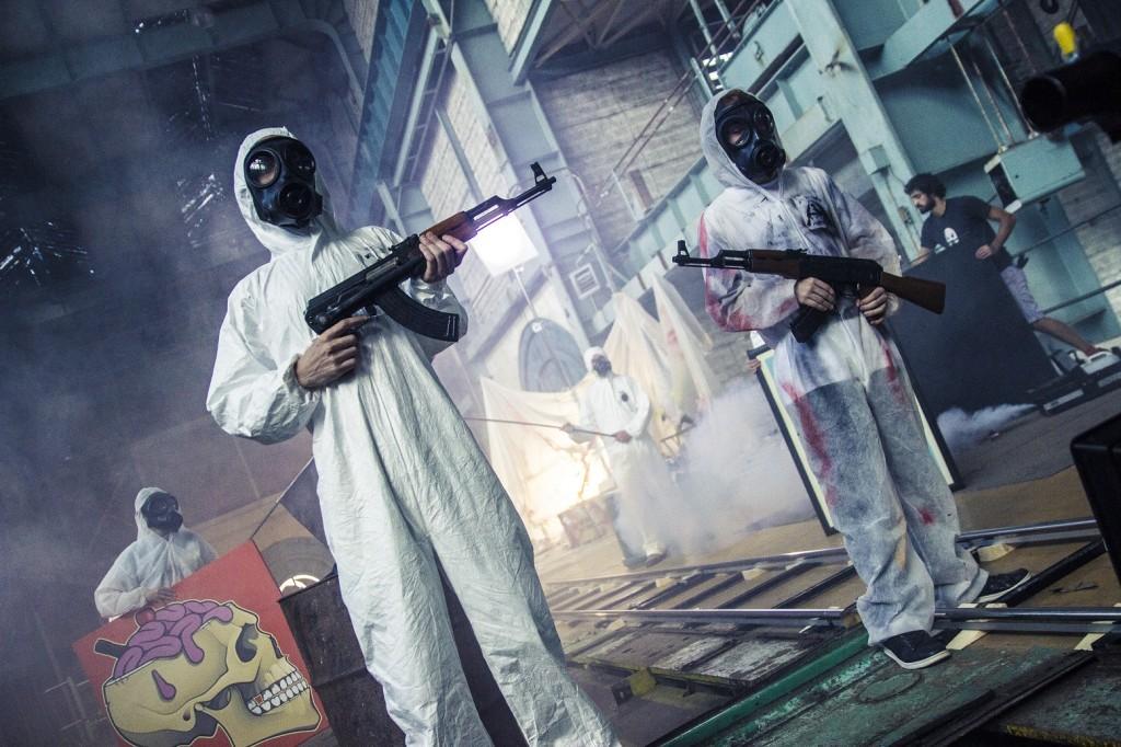 02_《嗆聲Banksy》紀錄了藝術恐怖分子AK47對Banksy展開的報復計畫